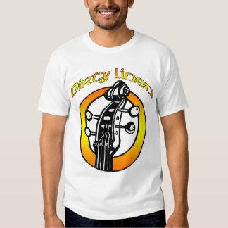 Men's Dirty Linen logo orange & yellow T Shirt