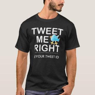 Mens Dk. Tees - Tweet Me Right