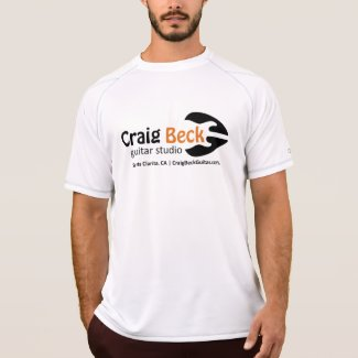 Men's Dry Fit Tee | Craig Beck Guitar Studio