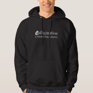 Men's Emagination Computer Camp Logo (white) Hoodie