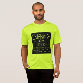 Men's Embrace the Suck running T-shirt