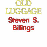 """Men's Embroidered Jacket with """"Old Luggage"""" Title"""