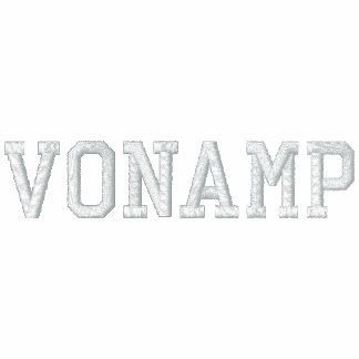 "Men's Embroidered ""VonAmp"" Polo Shirt"
