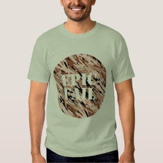 Mens' EPIC FAIL Chocolate Camo Shirt