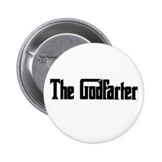 """Men's Fart Humor Gifts """"The Godfarter"""" Button"""