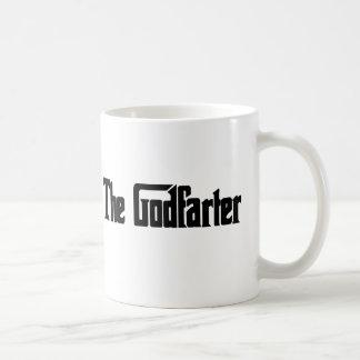 """Men's Fart Humor Gifts """"The Godfarter"""" Coffee Mug"""