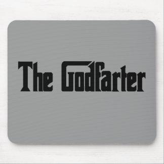 """Men's Fart Humor Gifts """"The Godfarter"""" Mousepad"""