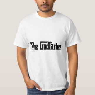 "Men's Fart Humor Gifts ""The Godfarter"" T-Shirt"