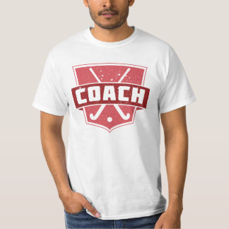 Men's Field Hockey Coach Tee Shirt