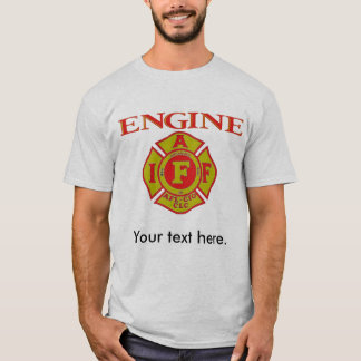 Mens Fire Fighters, T Shirt.. T-Shirt
