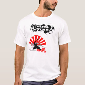 Men's Fire Star T-Fight for The Gignity/white T-Shirt