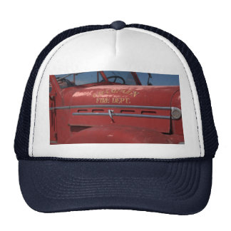 Mens Fire Truck Hat