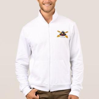 Men's Fires Foundation Logo Fleece Jogger Jacket