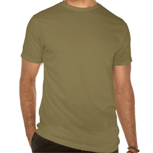 Men's Fitted Crew Neck T-Shirt Olive Green