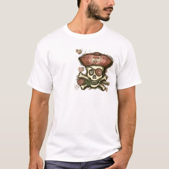 Men's Fitted Pirate T-Shirt