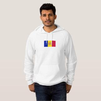 Mens Flag of Andorra Hoodie