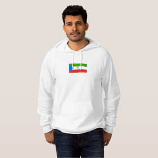 Mens Flag of Equatorial Guinea Hoodie