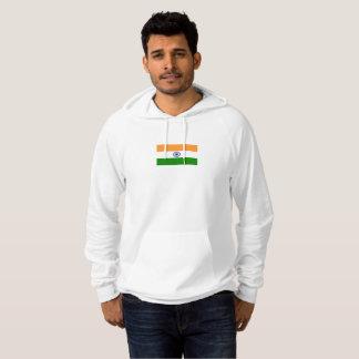 Mens Flag of India Hoodie