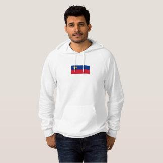 Mens Flag of Liechtenstein Hoodie