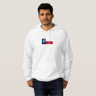 Mens Flag of Texas Hoodie