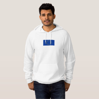 Mens Flag of the European Union Hoodie