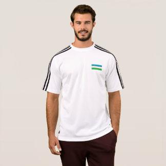 Mens Flag of Uzbekistan T-Shirt