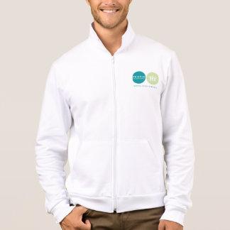 Men's Fleece Logo Zip Jogger Jacket