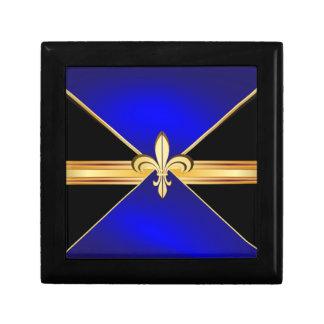 Men's Fleur-de-Lis Custom Jewelry Gift Box