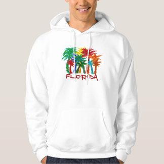 Mens Florida palm tree hoodie