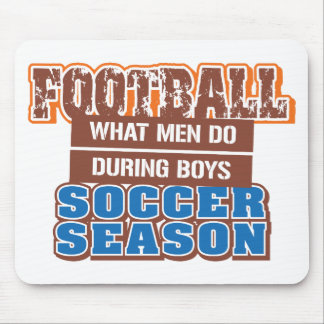 Men's Football Mouse Pad