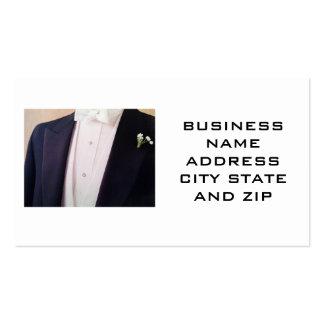 MEN'S FORMAL WEAR BUSINES CARD BUSINESS CARD
