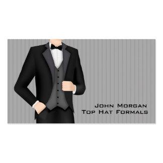 Men's Formal Wear Business Card