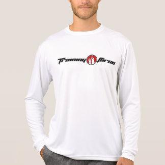 Men's Front Logo Micro Fiber Long Sleeve T Shirt