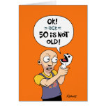 Men's Funny 50th Birthday Card