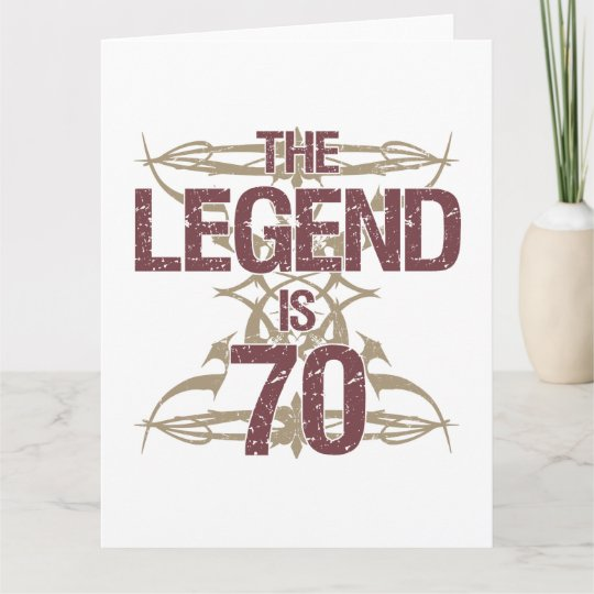 Mens Funny 70th Birthday Card Zazzle