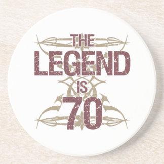 Men's Funny 70th Birthday Coaster