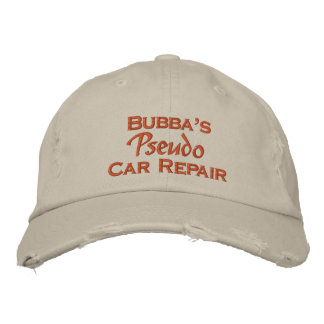 Men's Funny Mechanic Embroidered Baseball Cap
