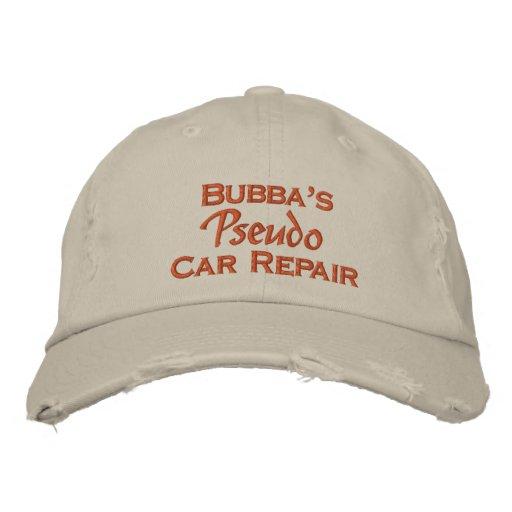 Men's Funny Mechanic Embroidered Baseball Cap