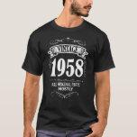 "Men&#39;s funny Vintage 1958 60th Birthday Shirt<br><div class=""desc"">Men&#39;s funny Vintage 1958 60th Birthday Shirt</div>"