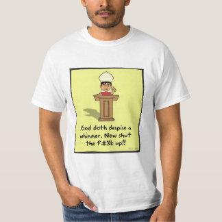 Mens god hates a whiner T-Shirt