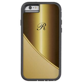 Men's Gold Business Tough Xtreme iPhone 6 Case