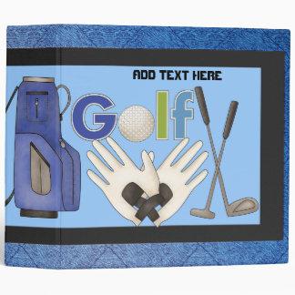 Mens Golf Avery Binder