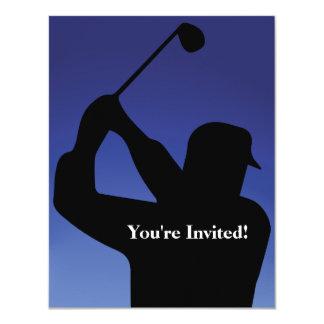 Men's Golf Blue Invitation