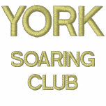 Men's Golf Shirt With YORK SOARING CLUB Design Embroidered Shirt