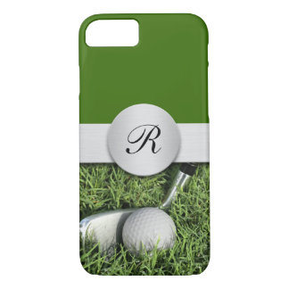 Men's Golf Theme iPhone 7 Cases