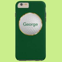 Men's Golf Theme Tough iPhone 6 Plus Case
