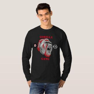 "mens ""Gorilla Gang""long sleve T Shrit T-Shirt"