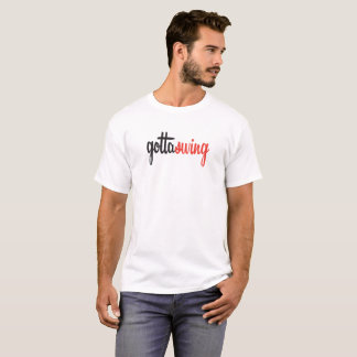 Men's Gottaswing White Tee