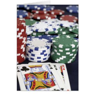 Men's Greeting Card Poker Design