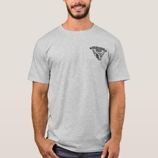 Men's Grey Sirloin Hut T-Shirt Black Logo